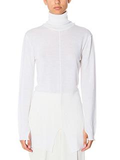 Damir Doma-Kan white wool knitwear