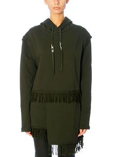 Damir Doma-Wilde green cotton sweatshirt