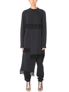 Damir Doma-Watt black cotton sweatshirt
