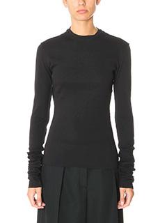 Damir Doma-Torni black cotton knitwear