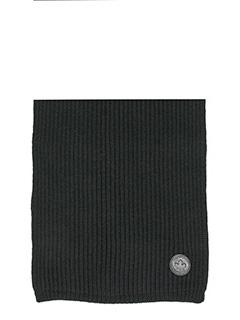 Dsquared 2-Sciarpa in lana nera