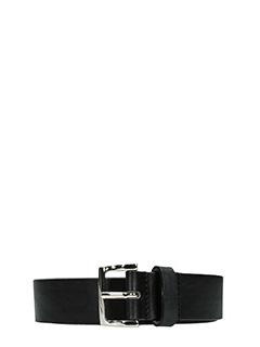 Dsquared 2-Cintura Classic Belt in pelle nera