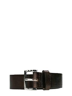 Dsquared 2-Cintura Classic Belt in pelle testa di moro