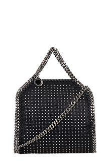 Stella McCartney-Borsa Tiny Falabella in shaggy nero