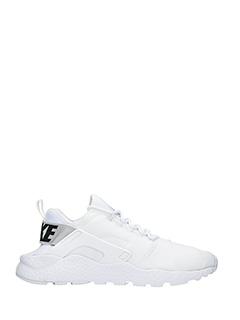 Nike-Sneakers Huarache Run in pelle e  nylon bianco