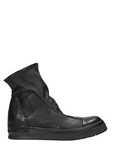 Cinzia Araia-Sneakers Skyn Berta in pelle nera