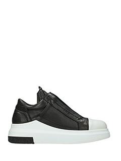 Cinzia Araia-Sneakers Araia 74 in pelle nera