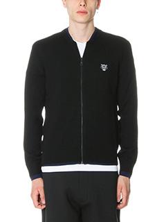 Kenzo-Cardigan in lana nera