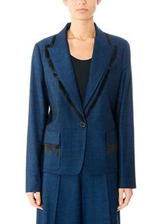 Maison Margiela-blue cotton jacket