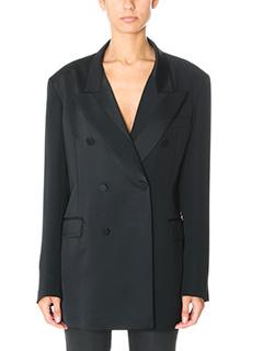 Maison Margiela-black cotton jacket