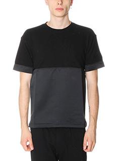 Kenzo-T-Shirt in cotone e nylon nero
