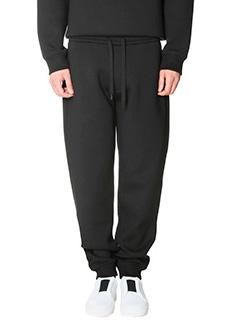Kenzo-Pantaloni in neoprene nero