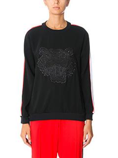 Kenzo-black nylon sweatshirt