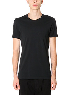 Low Brand-T-shirt B8 in cotone nero