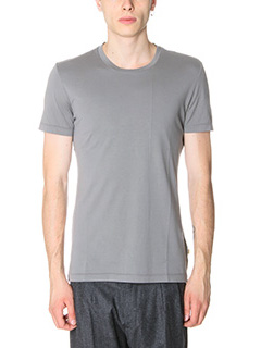 Low Brand-T-Shirt B 8 in cotone grigio