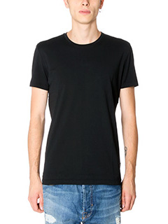 Low Brand-T-shirt B1 in cotone nero