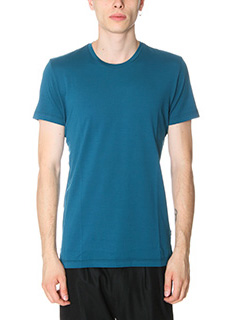 Low Brand-T-Shirt B 1 in cotone cobalto