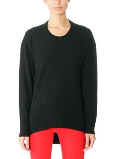 Balenciaga-black wool knitwear