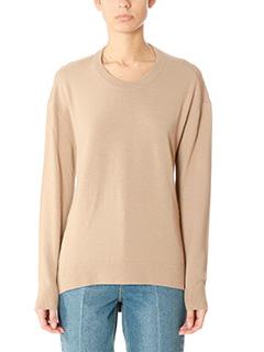 Balenciaga-leather color wool knitwear