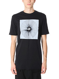 Damir Doma-T-Shirt Tate in cotone nero