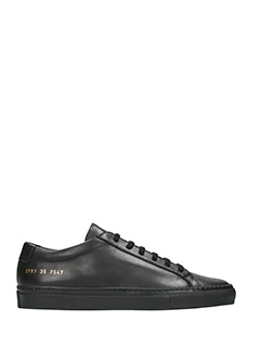 Common Projects-Sneakers Original Achilles Low in pelle nera