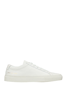 Common Projects-Sneakers Original Achilles Low in pelle bianca