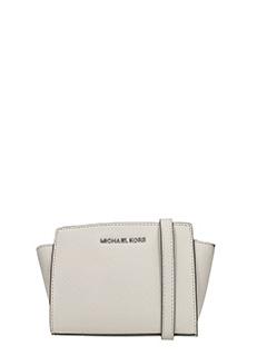 Michael Kors-Borsa Ava XS Crossbody in pelle beige