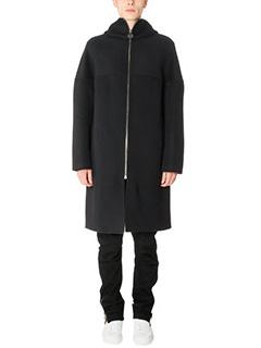 Balenciaga-Cappotto in lana blue