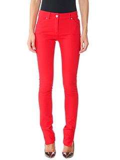 Balenciaga-red denim jeans