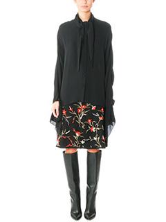 Balenciaga-black silk shirt