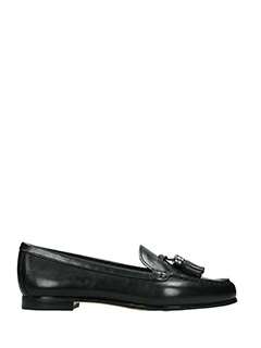 Michael Kors-Callahan loafer black leather loafers