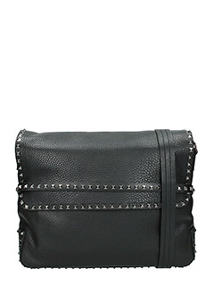 Valentino-Borsa Rockstud in pelle nera