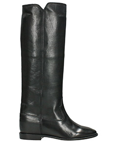 Isabel Marant-Chess black leather boots