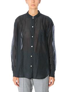 Isabel Marant Etoile-Lixy black cotton shirt