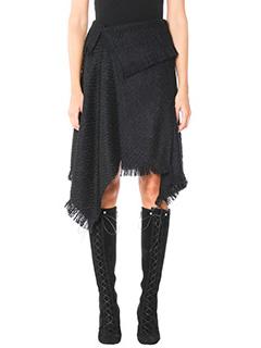 Isabel Marant-Idini black wool skirt