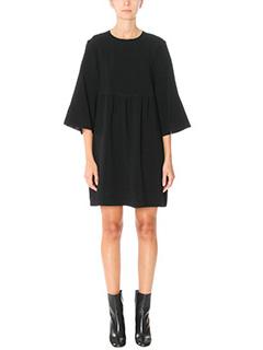 Isabel Marant-Vestito Aggy in crepe nera