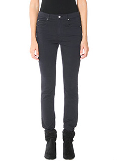 Isabel Marant Etoile-Elka black cotton pants