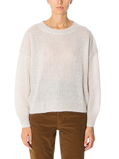 Isabel Marant Etoile-Clifton beige wool knitwear