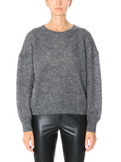 Isabel Marant Etoile-Clifton grey wool knitwear