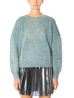 Isabel Marant Etoile-Clifton green wool knitwear