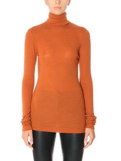 Isabel Marant Etoile-Joey orange wool knitwear