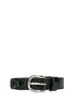 Isabel Marant Etoile-Dash black leather belt