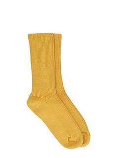 Isabel Marant Etoile-Waris yellow wool socks