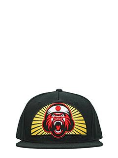 Dsquared 2-Cappello Gorilla in cotone nero