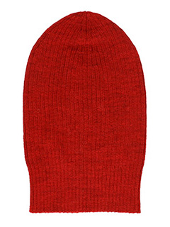 Isabel Marant Etoile-Cappello Everglag in lana rossa