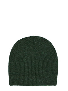 Isabel Marant Etoile-Cappello Gordon in lana dark verde