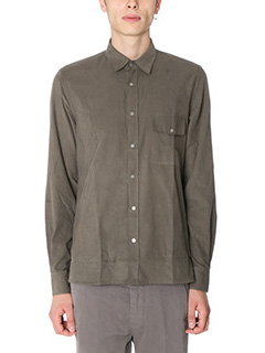 Low Brand-Camicia Shirt S10 in velluto beige