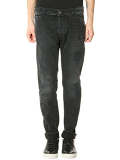 Low Brand-Jeans T.5 Regular in denim nero
