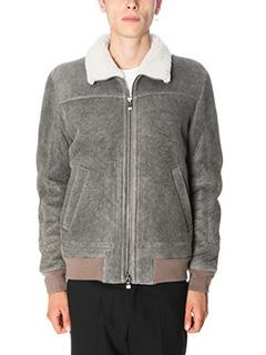Drome-Montone in shearling grigio