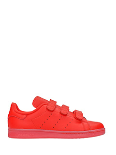 Adidas-Stan smith cf red leather sneakers